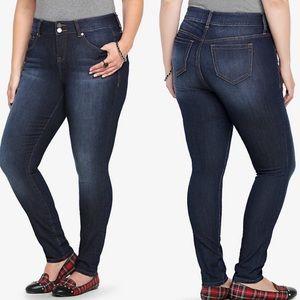 Torrid Slim Fix Skinny Jeans Medium Wash Plus 20